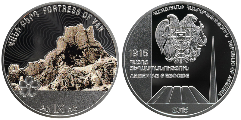 Genocide Centennial Medal - Fortress of Van