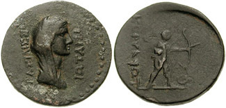 City Issue of Cilicia - Corycus - AE 4 Chalkoi - Kovacs-273