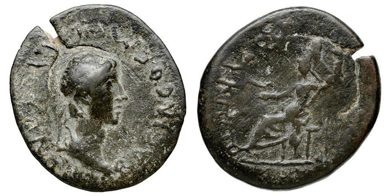 City Issue of Cilicia - Corycus - AE 8 Chalkoi - Kovacs-271