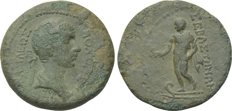 City Issue of Cilicia - Elaeusa-Sebaste - AE 4 Chalkoi - Kovacs-280