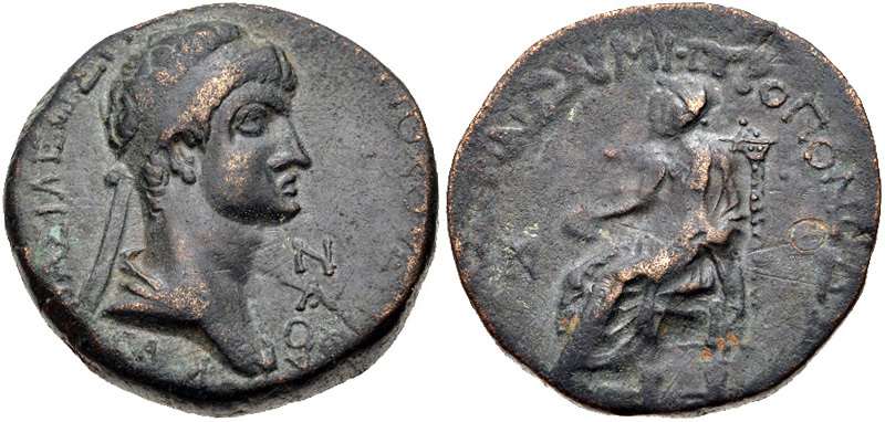 City Issue of Cilicia - Elaeusa-Sebaste - AE 8 Chalkoi - Kovacs-277