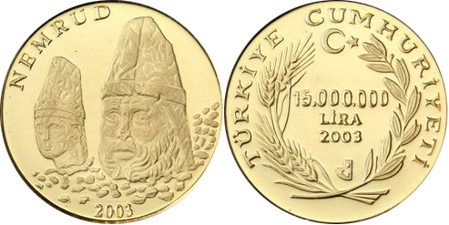 Turkey - Nemrud 15,000,000 lira 2003