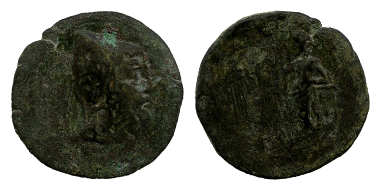 Mithradates II - AE 8 Chalkoi - Kovacs-230